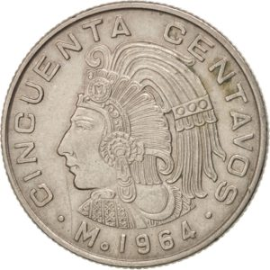 Revers 50 centavos 1964