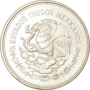 Avers 100 pesos 1985