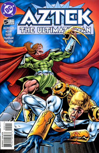 Aztek : The Ultimate Man. 5 : Deathtrap