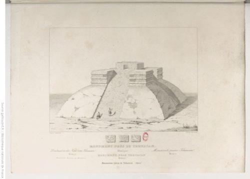 Monument près de Tehuacan