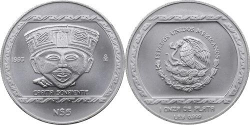 5 nuevos pesos Carita sonriente