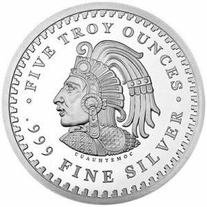 Revers Five troy ounces