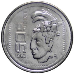 Revers 50 centavos 1983