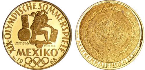 XIX Olympische Sommerspiele Mexiko 1968