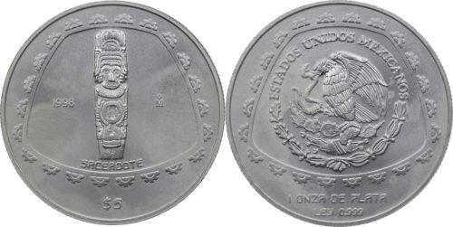 5 pesos Sacerdote