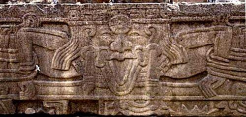 Bas-relief de El Tajin