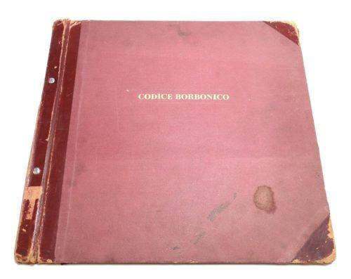 Códice Borbonico : couverture