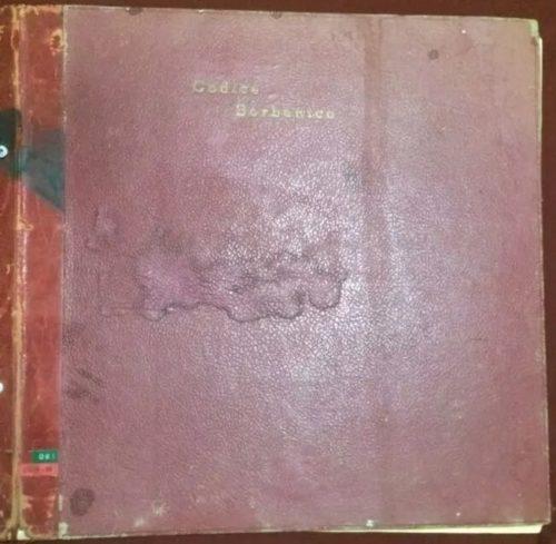 Códice Borbonico : couv.