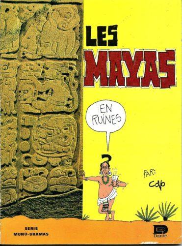 Les Mayas (en ruines) : couv.