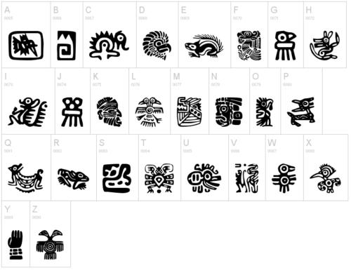 Aztecs Icons par Woodcutter