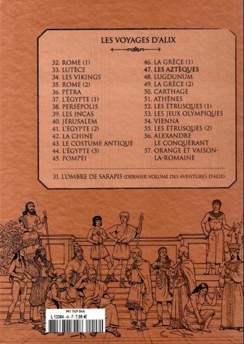 Les Aztèques : 4e de couv.