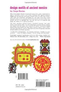4e de couv. Design Motifs of Ancient Mexico