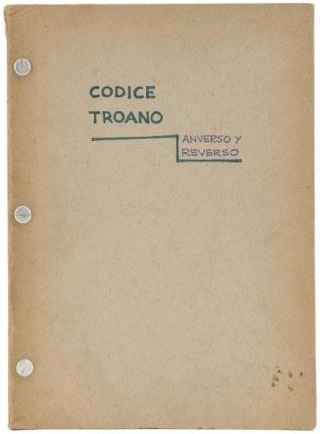 Codice Troano : couv.