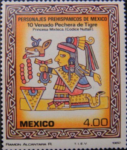 10 Venado Pechera de Tigre, princesa Mixteca
