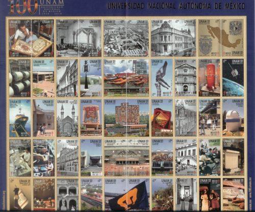 1910-2010 : 100 años de la fundación de la UNAM