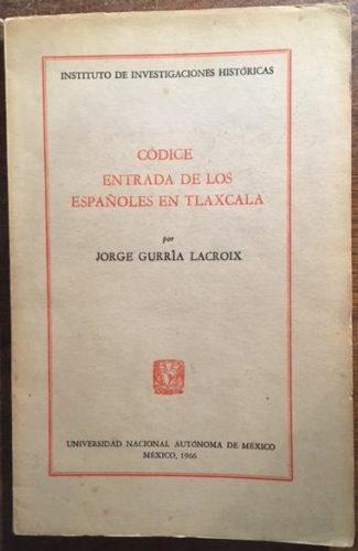 Códice Entrada de los Españoles en Tlaxcala