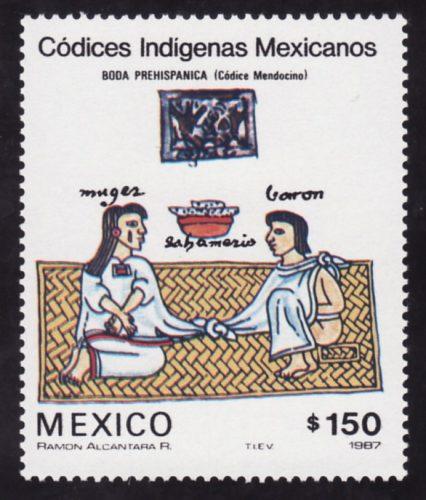 Boda prehispanica