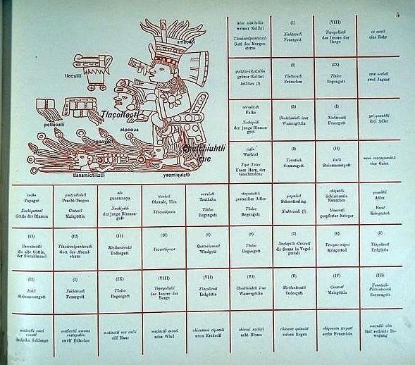 Das Tonalamatl der Aubin' schen Sammlung : p. 5