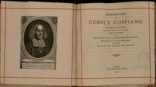 Descripción del códice Cospiano