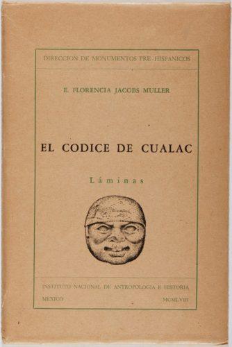 El Codice de Cualac : planches