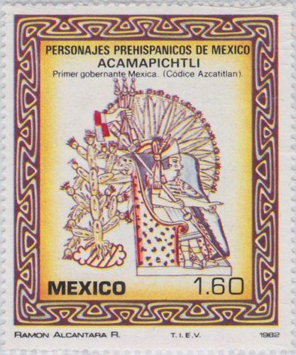 Acamapichtli, primer gobernante Mexica