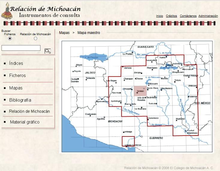 Accès cartographique