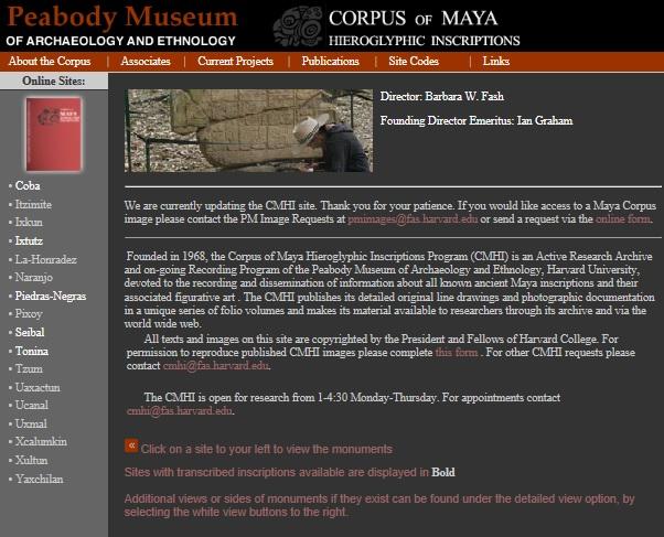 Page d'accueil du CMHI