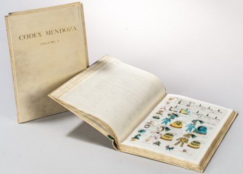 Codex Mendoza : the Mexican manuscript known as the collection of Mendoza and preserved in the Bodleian Library Oxford