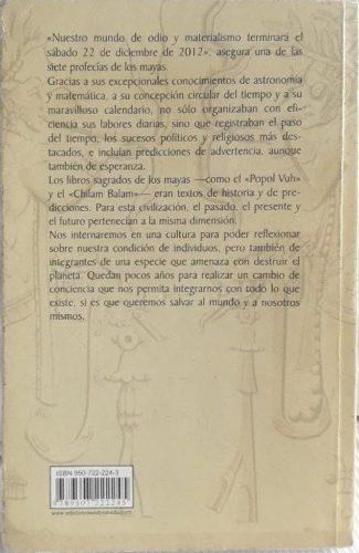 Los enigmáticos códices Mayas : 4e de couv.