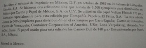 El Lienzo de Tlaxcala : achevé d'imprimer
