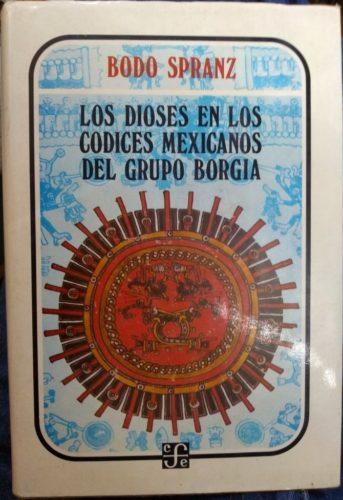Los dioses en los codices mexicanos del grupo Borgia