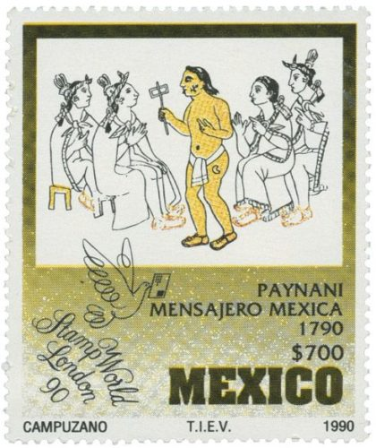 Paynani, mensajero mexica 1790