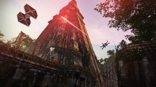 Combats sur le site de Yavin 4 /Tikal