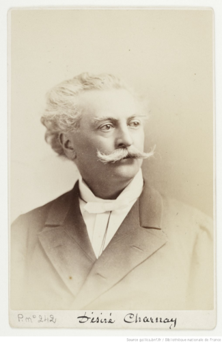 Désiré Charnay par Napoléon Sarony