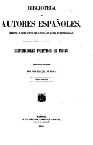 Historiadores primitivos de Indias