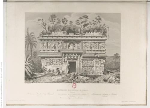 Monument religieux, à Uxmal
