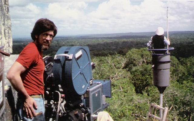 Tournage sur le site de Tikal