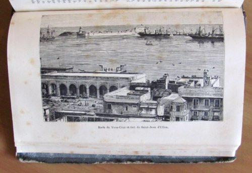 Rade de Vera-Cruz et fort de Saint-Jean d'Ulloa