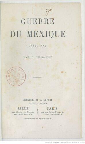 Guerre du Mexique : 1861-1867