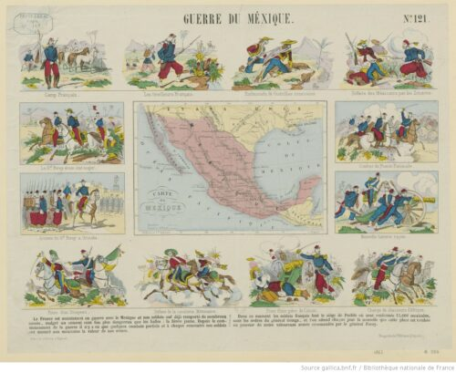 Guerre du Mexique. N°121 : [estampe]