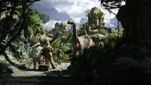 Brontosaures de King Kong