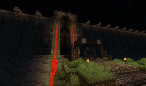 Skull Island Porte Minecraft