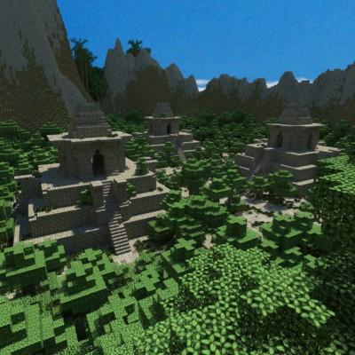 Skull Island Temples Minecraft
