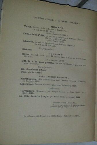 Version de page de dépôt légal avec  mention de collection