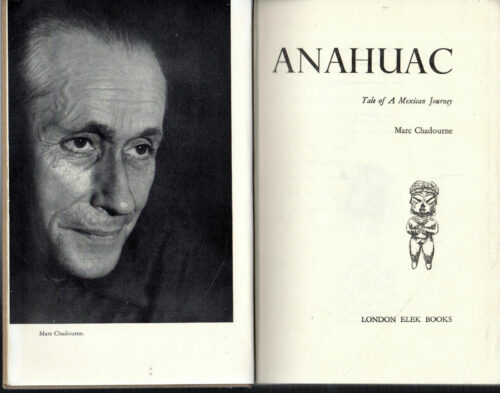 Anahuac : a tale of a Mexican Journey