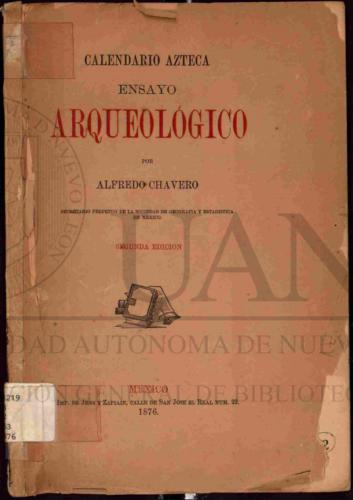 Calendario azteca : ensayo arqueológico