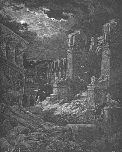 Babylon fallen / Babylone en ruines (Vision de Saint Jean)