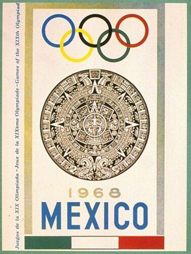 Jeux de la XIXe olympiade Mexico 1968