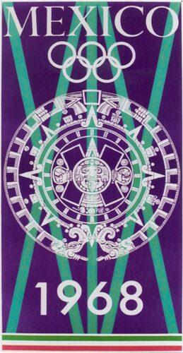 Mexico 1968 bleu