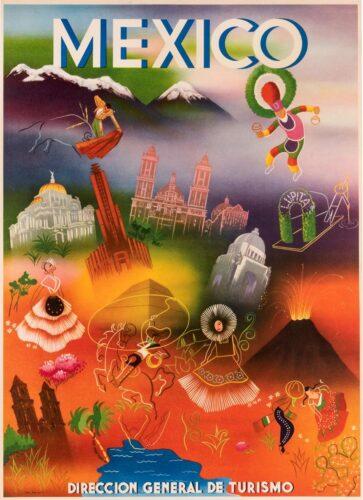 Mexico, Direccion general del turismo